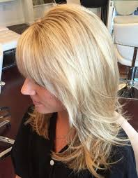 layered crown haircut long layered haircuts with bangs layered hair style and accessories