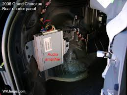 jeep grand cherokee wk interior trim removal
