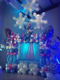 frozen balloons frozen backdrop ideas search frozen themed birthday party