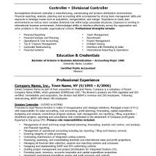 Sample Financial Controller Resume by Cover Letter Controller Resume Example Assistant Controller Resume