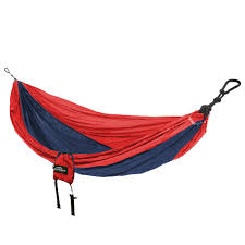 castaway 9 ft parachute bag hammock in and navy pa