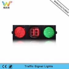 led traffic signal lights china waterproof 300mm full ball countdown timer led traffic signal