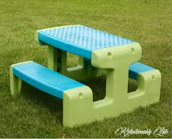little tikes bench table little tikes picnic table makeover refashionably late