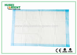 non woven hospital disposable products white blue disposable bed