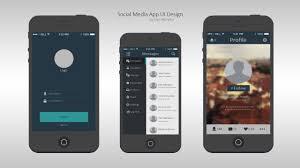 speed art a social media app ui design im back youtube