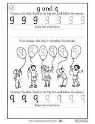 kindergarten preschool reading writing worksheets missing