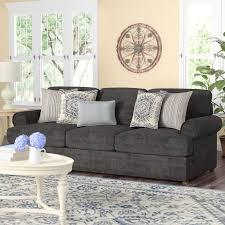 simmons antique memory foam sofa darby home co simmons upholstery dorothy sofa reviews wayfair