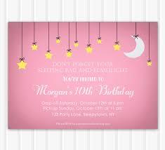 Mary Kay Party Invitation Templates Sleepover Party Invitations U2013 Gangcraft Net