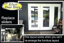 Replacement Patio Door Glass Patio Door Replacement Cost Or Glass Glass Door Repair Patio