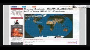 Earthquake Los Angeles Map by M3 8 M3 6 Earthquake Hits Los Angeles California 14 March 2017