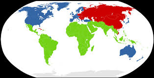 World War 3 Map by As The Earth Evolves India A Third World Country