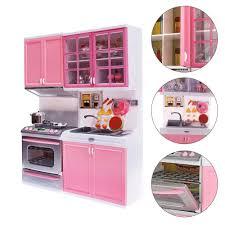 Kids Kitchen Furniture Aliexpress Com Buy Pink Kid Kitchen Fun Toy Pretend Play Cook