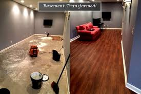 earthwerks flooring spaces contemporary with basement before and