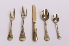 gold flatware rental flatware ambiance event rental