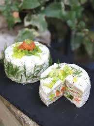 marmitons recettes cuisine sandwich cakes indivuels au saumon fumé et aux herbes recette de