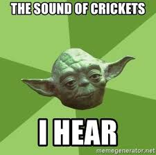 Crickets Meme - crickets chirping meme 28 images pics for gt cricket insect