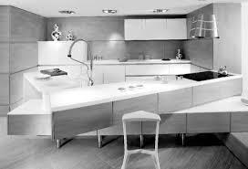 cuisine ilot centrale design cuisine design laque brillant lagune giro cuisine