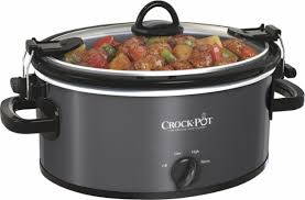 crock pot black friday sales crock pot cook u0026 carry 5 quart slow cooker gray sccpvl500 mc
