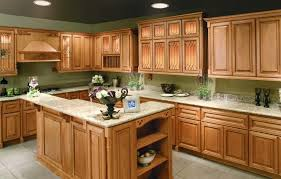 Raised Panel Cabinet With Nuance by Kitchen Room Design Staining Honey Oak Kitchen Cabinets Raised