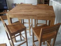 table haute bar cuisine top superior table de bar cuisine