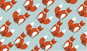 pattern illustration tumblr fox illustration tumblr image 1658740 by awesomeguy on favim com