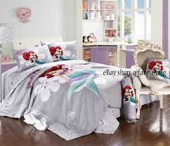 Girls Queen Size Bedding by Stunning Disney Little Mermaid Full 7pc Comforter In A Bag Queen