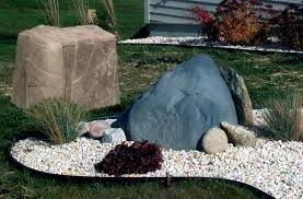 Modern Rock Garden by Modern White Rocks For Landscaping Decorative White Rocks For