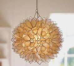 capiz flush mount light capiz shell flush mount light fixture making shell chandelier