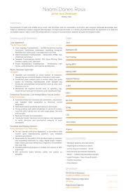Java Developer Sample Resume by Apprentice Resume Samples Visualcv Resume Samples Database