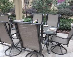Swivel Patio Dining Chairs Patio U0026 Pergola Amazon Com Grand Regent 7pc Outdoor Swivel Patio