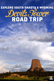 South Dakota travel kit images Explore devils tower in this road trip koa camping png