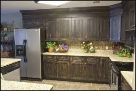 Refinished Cabinets Kitchen Room Magnificent Refinishing Old Kitchen Cabinets Cheap