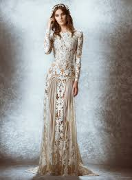 ethereal wedding dress zuhair murad 2015 fall bridal wedding dresses photos