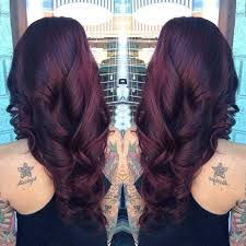 rich cherry hair colour this is a rich deep cherry brown hairstyle stylish eve nails