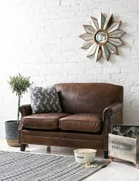 Aged Leather Sofa Vintage Leather Brooklyn Sofa By Rose And Grey Vintage Leather