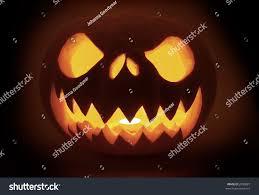 light up pumpkins for halloween scary litup pumpkin halloween stock photo 2099887 shutterstock
