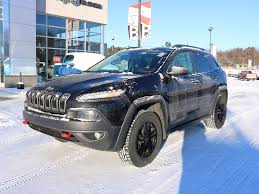 jeep trailhawk blue jeep cherokee trailhawk 2016 automatic buckingham qc quebec