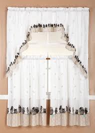 Kitchen Curtains And Valances by Amazon Com Gorgeoushomelinendifferent Designs 3pc Kitchen Window