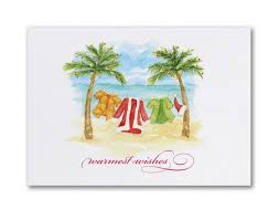 tropical christmas cards palmtree christmas cards personalized tropical christmas cards