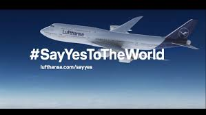 bureau lufthansa see the spot lufthansa launches sayyestotheworld caign in
