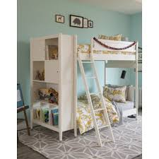 mid century modern bunk u0026 loft beds you u0027ll love wayfair