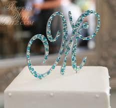 m cake topper monogram cake topper color tips
