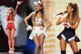 Ariana Grande Costume Halloween Ariana Grande U0027s Skimpier Victoria U0027s