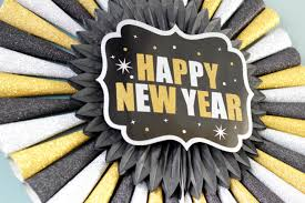 new year party supplies how to party supply wreath for new year s