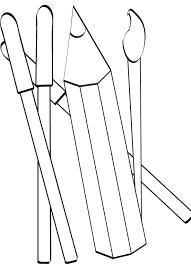 coloriage sur l u0027école sur tête à modeler