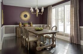 Purple Dining Rooms - Purple dining room