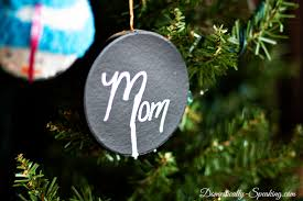 diy chalkboard ornaments domestically speaking