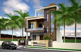 front elevation design modern duplex front elevation design