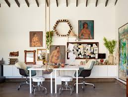 Dining Room Office Power Couples Desks And Office Chairs Emily Henderson