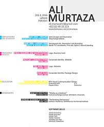 Graphic Designer Resume Samples by Ali Murtaza Design Resume Be At Your Professional Best